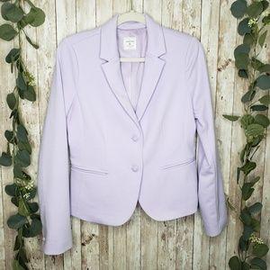 GAP Lavender Purple The Academy Blazer Jacket 6